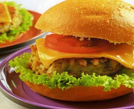 cach lam hamburger tom 2